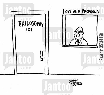 Philosophy class door is next to window \u0027Lost and Profound\u0027  sc 1 st  From experience to meaning... & Cartoons on University Teaching | From experience to meaning...
